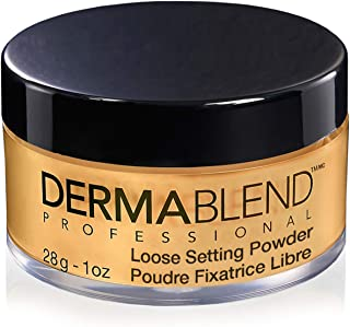 Dermablend Professional Loose Setting Powder - Sets Face & Body Makeup for Up to 16 Hours - Blends Smoothly, Absorbs Exces...
