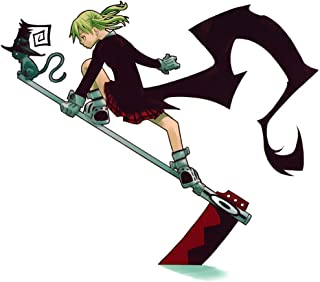 MasonArts Soul Eater Maka 16inch x 14inch Silk Poster Wallpaper Wall Decor Silk Prints for Home and Store