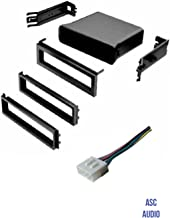 ASC Car Stereo Dash Install Pocket Kit and Wire Harness for Installing a Single Din Radio for Subaru: 2003 - 2006 Baja, 1998 - 2008 Forester, 1993 - 2007 Impreza, 1995 - 2004 Legacy, 2000-2004 Outback