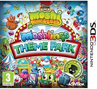 Video Games : Moshi Monsters - Moshling Theme Park (3DS)