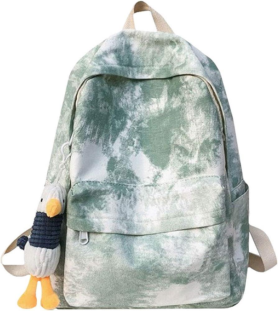 Van Caro Unisex Waterproof School Backpack Cactus Travel Rucksack