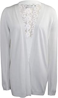Molly Bracken Womens Knit Cardigan White XS/SM