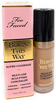 Born This Way Super Coverage Multi-Use Sculpting Concealer Nude