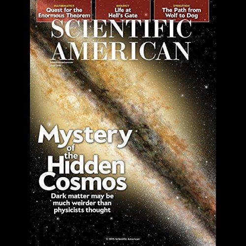 Scientific American, July 2015 audiobook cover art