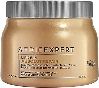 L'Oréal Professionnel, Esperto di serie, Maschera per capelli Absolut Repair, Per Capelli Danneggiati 500 ml