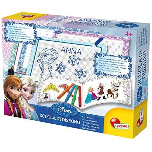 Lisciani Giochi - Frozen Scuola di Disegno Disney Princess Gioco per Bambini, 47833
