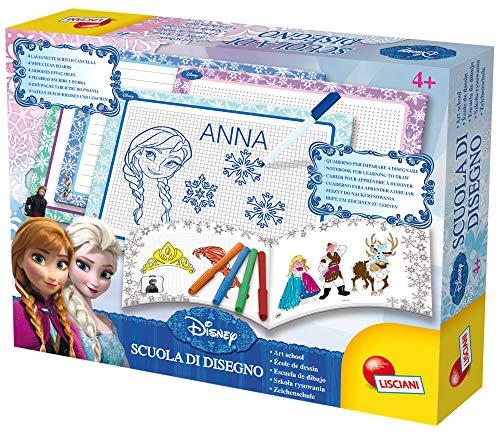 Lisciani Giochi, 47833, Frozen escuela de dibujo, juego infantil