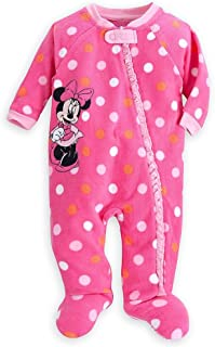 1e08b57826 Disney Store Minnie Mouse Girl Footed Blanket Sleeper Pajama (18-24 Month)