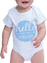 Custom Party Shop Baby Boy's I'm New Here Onepiece