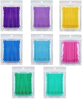 Make-up-Kosmetik-Sticks 15 cm sehr saugf/ähig und hygienisch runde Wattest/äbchen mit feinster Qualit/ät Wattest/äbchen aus Holz