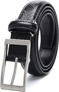 Male Leather Belt Hot Print Pattern Genuine Leather Belts Women 3.0 CM Belt Width Men Casual Belt Black Dark Brown