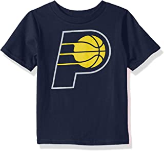 Outerstuff NBA NBA Toddler Indiana Pacers Primary Logo Short Sleeve Basic Tee, Navy, 3T