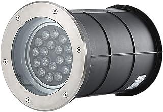 CHHD LED Underground Light Adjustable Angle Round Landscape Lights AC220V IP65 Waterproof Spotlight for Garden Driveway De...