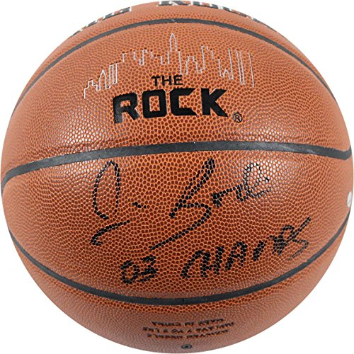 Fantastic Prices! NCAA Syracuse Orange Jim Boeheim Signed The Rock Game Model Basketball