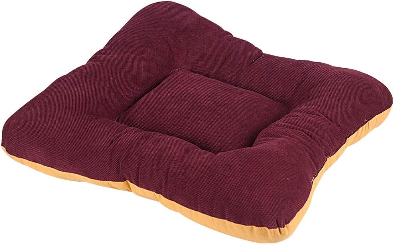 Pet Sofa Dog Pad Pet Sleeping Mat Comfortable Cat Mattress Thicken Warm Kennel Mat Pet Rest Mat Size color Optional (color   Style1, Size   50×47cm)
