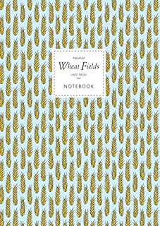 Wheat Fields Notebook - Lined Pages - A4 - Premium: (Sky Edition) Fun notebook 192 lined pages (A4 / 8.27x11.69 inches / 2...
