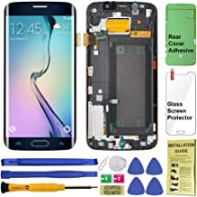 Display Touch Screen (AMOLED) Digitizer Assembly with Frame for Samsung Galaxy S6 Edge (5.1 inch) AT&T (G925A) / T-Mobile ...