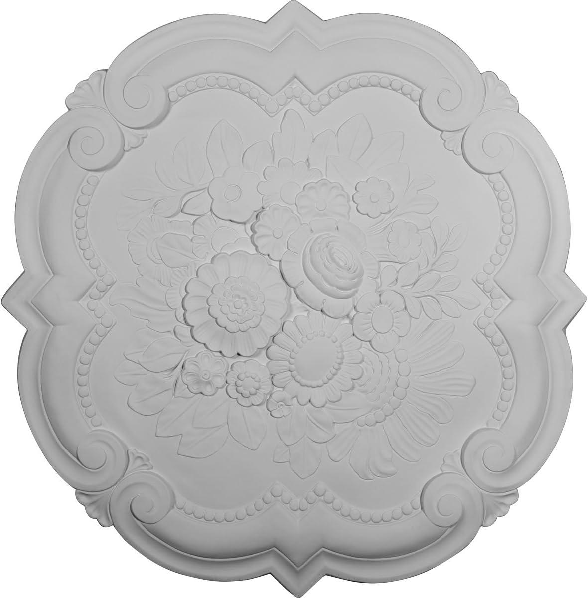 Ekena Millwork Factory outlet CM24VI Ranking TOP15 Victorian Ceiling Medallion 8