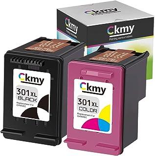 Ckmy 301 301XL - Cartuchos de tinta compatibles con HP