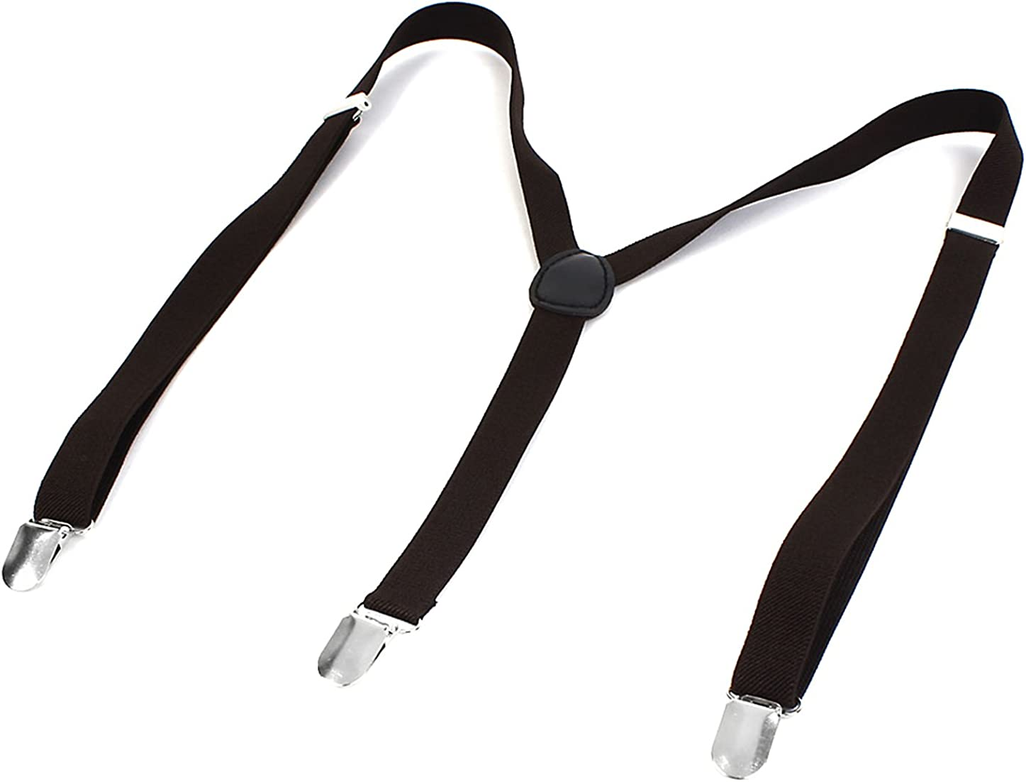 Man Clip-on Adjustable Elastic Y-Shape Stretchy Suspenders Braces