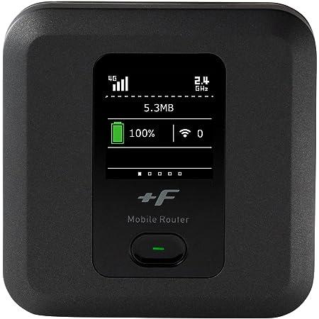 富士ソフト +F FS040W モバイル Wi-Fi ルーター SIMフリー 端末 FS040WMB1