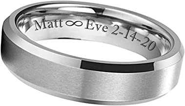 Men/'s Silver Coordinate Promise Ring Hand Stamped GPS Location Jewelry Personalized Wedding Band Unisex Classic Sterling Ring Custom Engrave