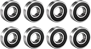 sourcingmap 51101 Single Direction Thrust Ball Bearings Flat Seat Chromium Steel,12x26x9mm 3pcs