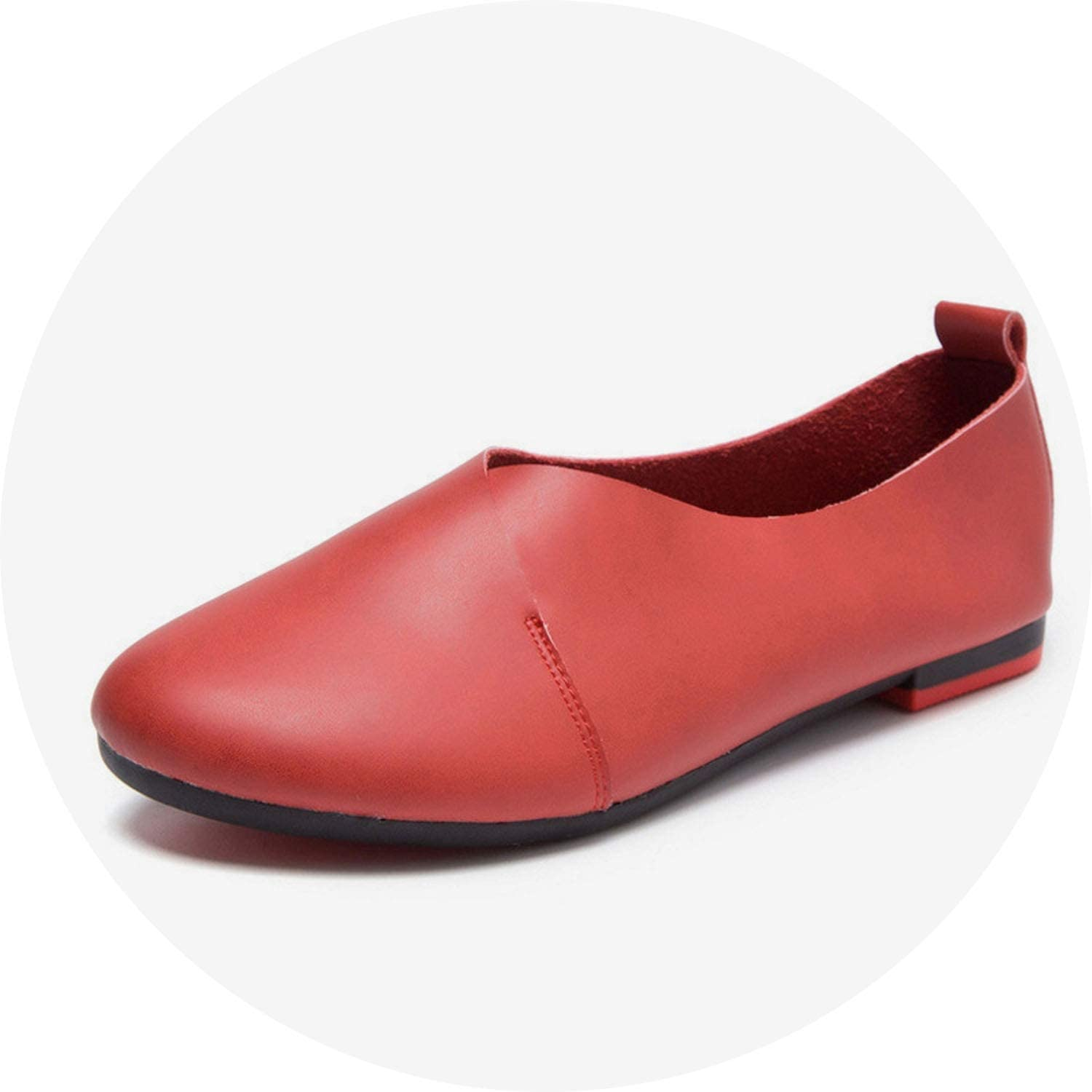 Ting room Autumn Loafers for Women Low Heel shoes Casual Platform Footwear Sewing Flats shoes