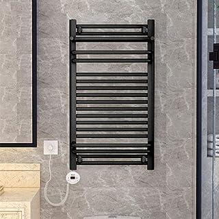 HYY-YY. Elektryczny podgrzewacz do ręczników, prostokątne pręty do tkanin, polerskie-chrom-twarde, przewodowe, ścianki, 8 ...