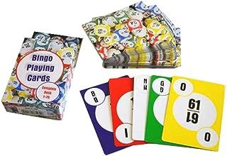 HAYES SPECIALTIES 2 Pack Bingo Calling Cards, Complete Deck of 75 Numbers