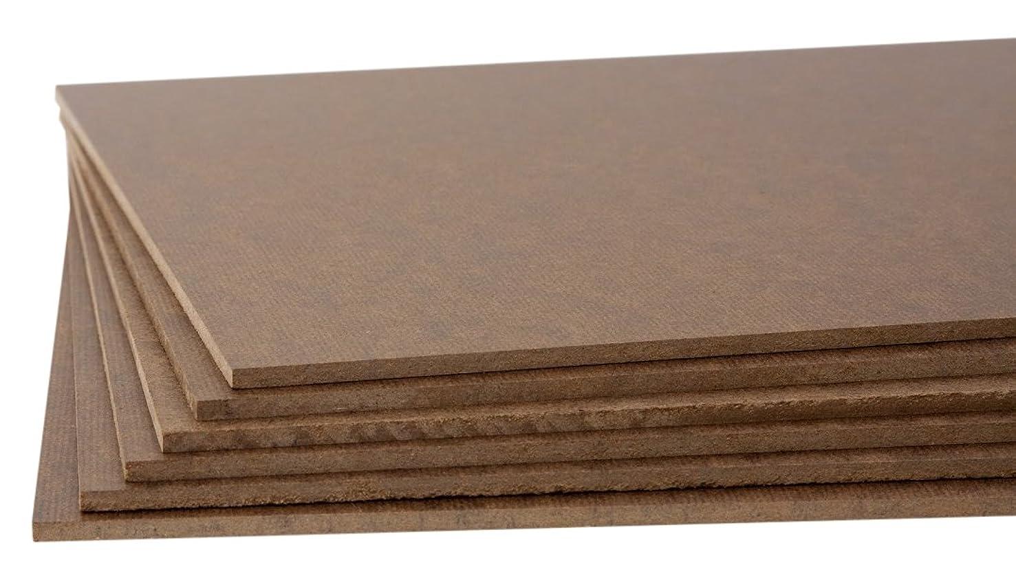 Jack Richeson High Density Tempered Hardboard(6 pack) ,  6x12