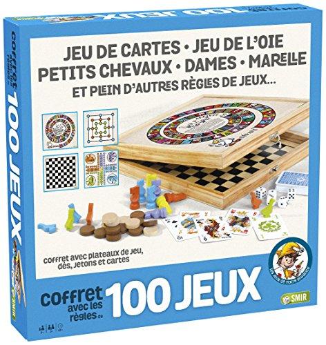France Cartes- Coffret 100 Bois-Les Grands Classiques Famill