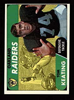 1968 Topps Football #116 Tom Keating STARX 8 NM/MT CS25383
