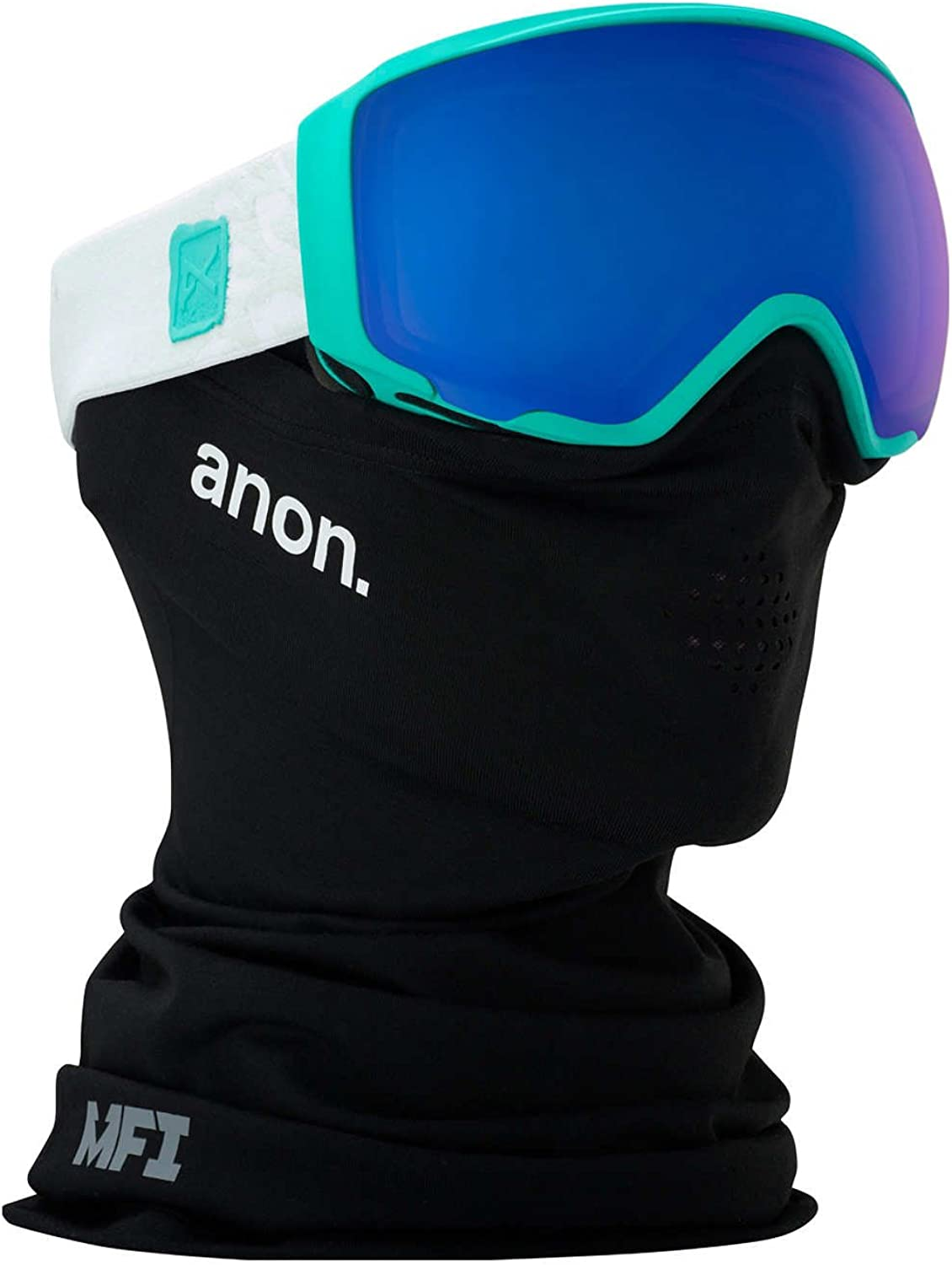 Anon WM1 Womens Snow Goggles One Size MFI Empress Teal  Sonar blueee