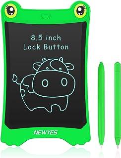NEWYES Tavoletta da Scrittura LCD da 8,5 Pollici Display Colorato Sostituisci il Disegno Magnetico per Bambini(Verde)