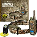 Dogtra 1900S WETLANDS Camo Remote Training Collar - 3/4 Mile Range, IPX9K Waterproof, Rechargeable, 127 Training Levels, Vibration - includes PetsTEK Dog Training Clicker