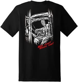 Trucker Skeleton Short Sleeve - Black