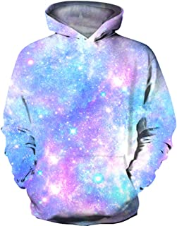 Kids Novelty 3D Printed Sweatshirt Girl Boy Galaxy Pullover Hoodies