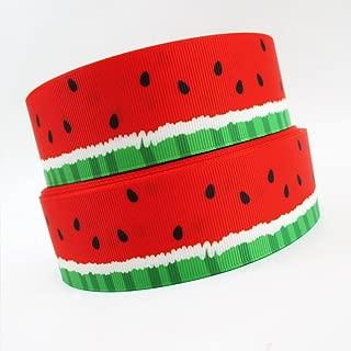 Baba Watermelon Style 5yards/lot width 38 mm of grosgrain printed ribbons Gift packaging ribbon or DIY handmade materials
