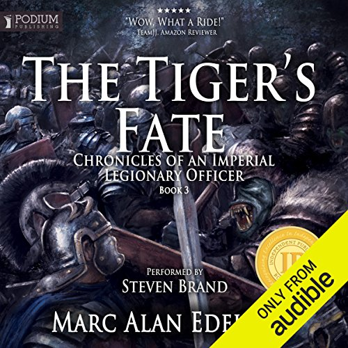 The Tiger's Fate audiobook cover art