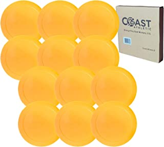 Coast Athletic Orange Poly Spot Markers 12 Pack