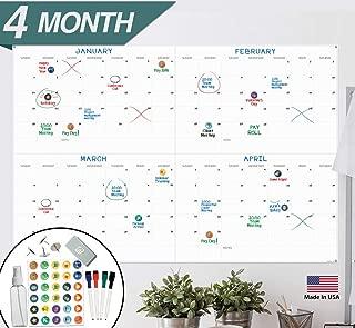 X Large Dry Erase Wall Calendar - 24