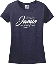 Looking for Jamie in a World of Franks Ladies T-Shirt (S-3X)