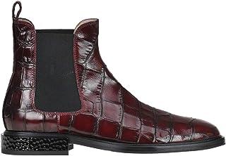 servicio considerado Alberto Alberto Alberto Gozzi Crocodile Print Leather Beatles Ankle botas Woman  gran selección y entrega rápida