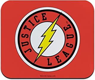 Justice League The Flash Athletic Logo Low Profile Thin Mouse Pad Mousepad