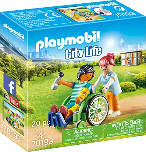 Playmobil City Life 70193 Patient In Rolstoel