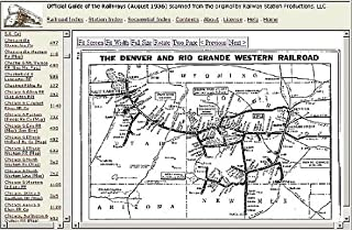Official Guide of the Railways, August 1936 on CD [CD-ROM]