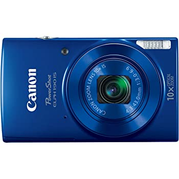Canon PowerShot ELPH 190 Digital Camera w/ 10x Optical Zoom and Image Stabilization - Wi-Fi & NFC Enabled (Blue)