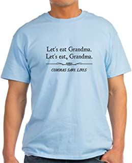 Let's Eat Grandma Commas Save Lives Cotton T-Shirt