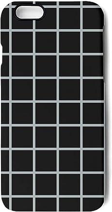 57efd476 Graph Paper Black White Grid Aesthetic iPhone 7 case Plus/8 case Plus,A